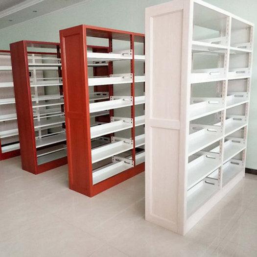 郑州柜之友钢制双柱双面书架厂家直销
