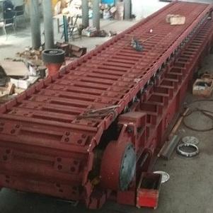 板式喂料机五大组成部分之三:槽板和滚轮
