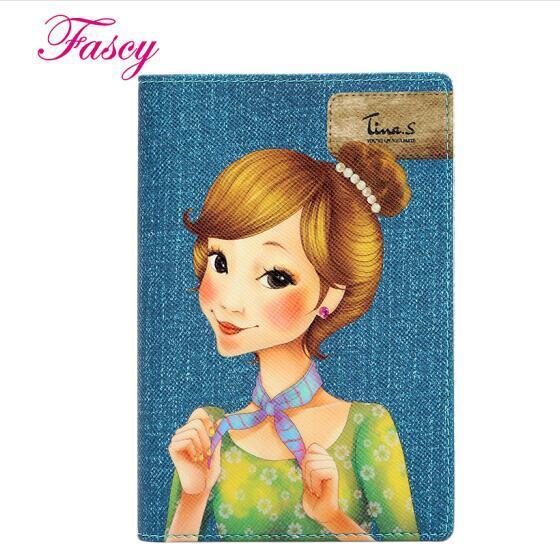 发熙 (发希 Fascy)护照夹 时尚护照保护套旅行潮流护照包 公主Tina
