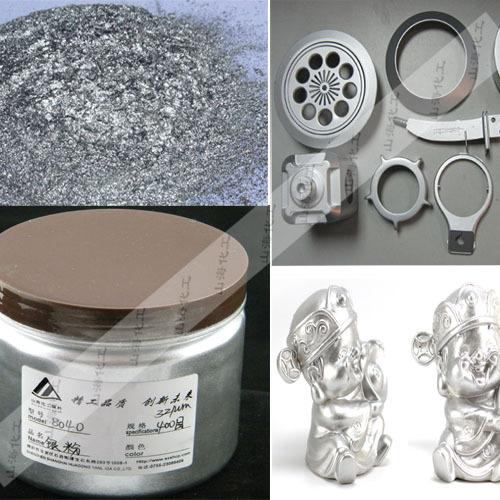 厂家直销油漆铝银粉 涂层铝银粉 细白银浆闪银粉