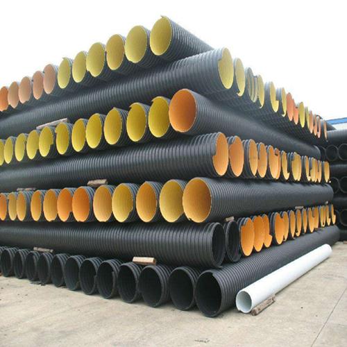 厂家现货销售批发统塑内肋增强PE螺旋波纹管