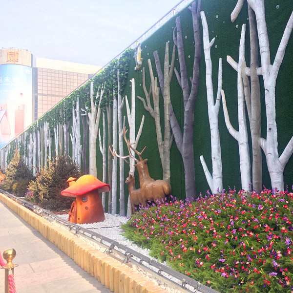 绿植围挡 绿植围挡价格 6米高绿植围挡