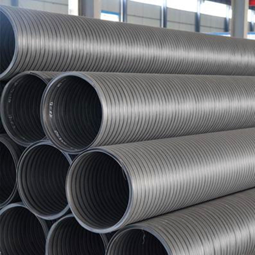 厂家直销统塑HDPE中空壁缠绕管  统塑管业