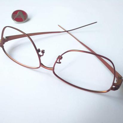 3d打印多色金属眼镜镜框电镀镜框外观精美