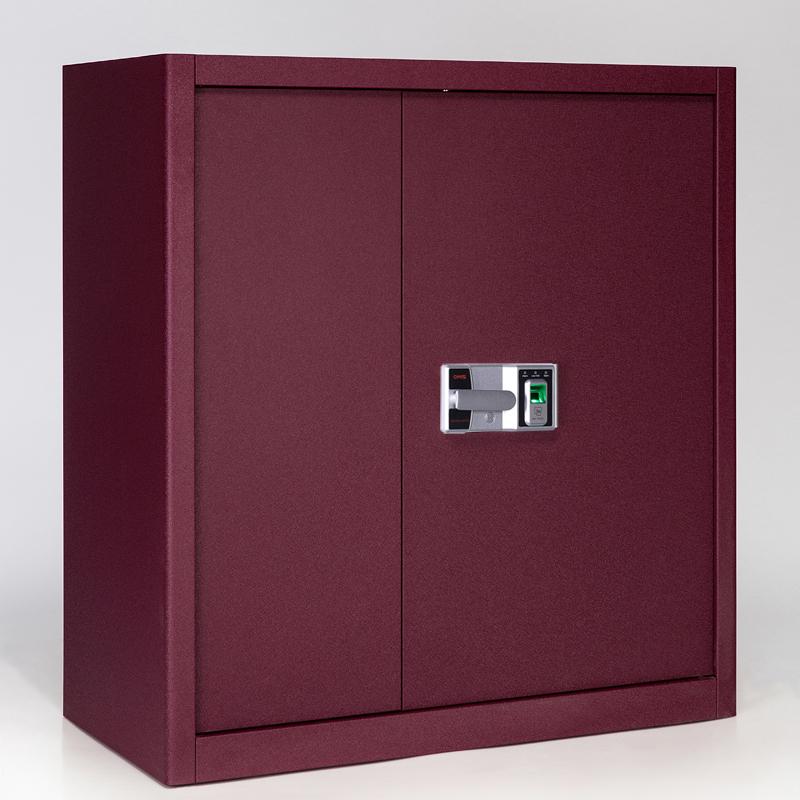 保密矮柜智能保险柜电子密码文件柜财务柜指纹办公柜铁皮储物柜