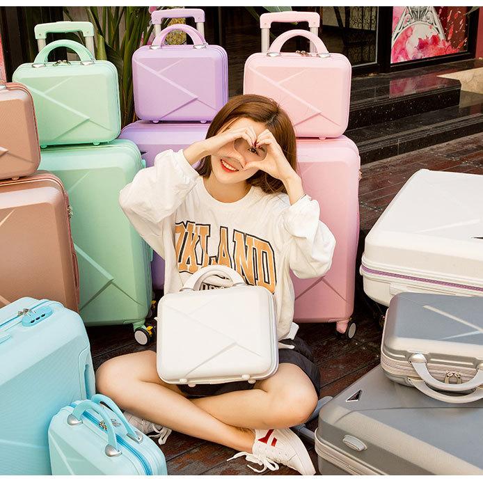供应 行李箱小清新万向轮旅行箱登机箱20韩版子母箱男女潮26拉杆箱24寸