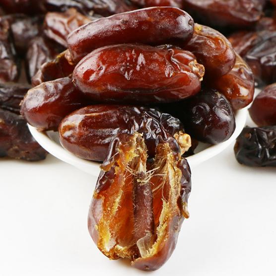 供应 伊拉克黑椰枣天然原味蜜饯果干蜜枣