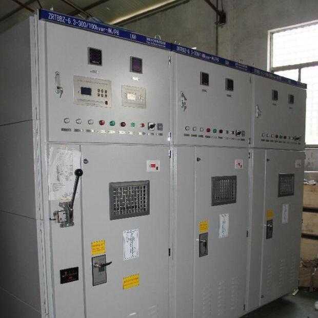 10KV电容补偿兆复安TBB系列高压无功集中补偿柜