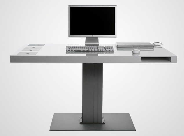 "Cemtrex 推出的""智能电脑桌"",为你提供三屏拓展方案"