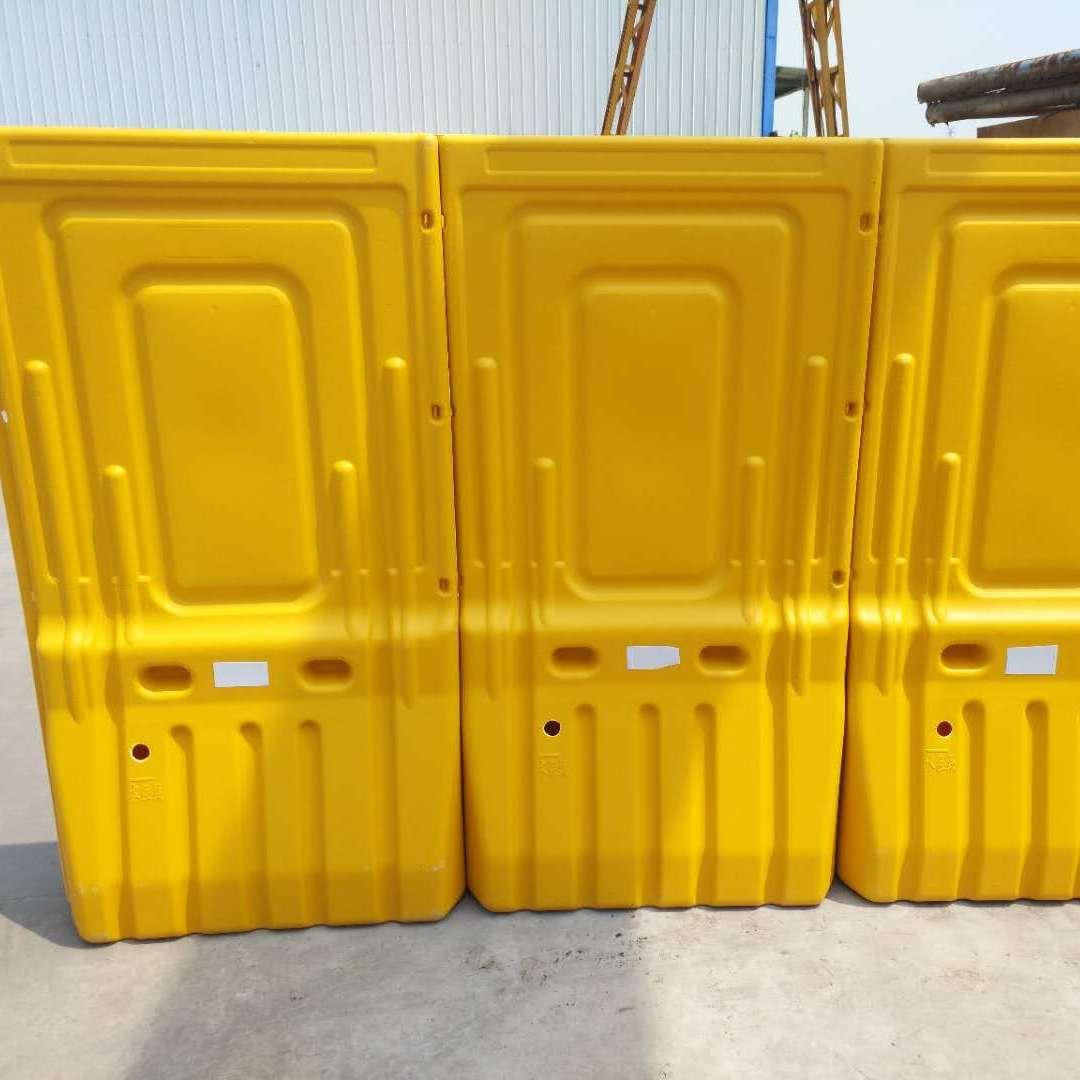 鼎耀交通1.8米高市政工程道路施工围栏 有效的施工隔离围栏塑料注水围挡防撞桶隔离墩