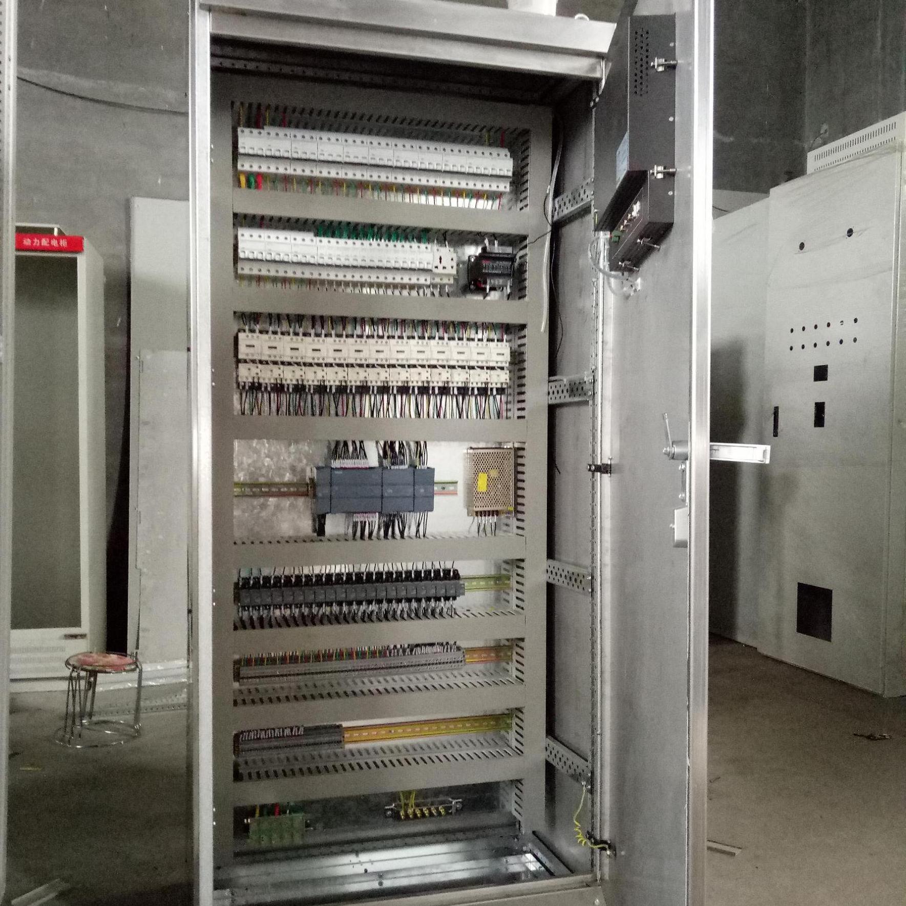 河北佳尔电气JR废水处理PLC控制柜系统