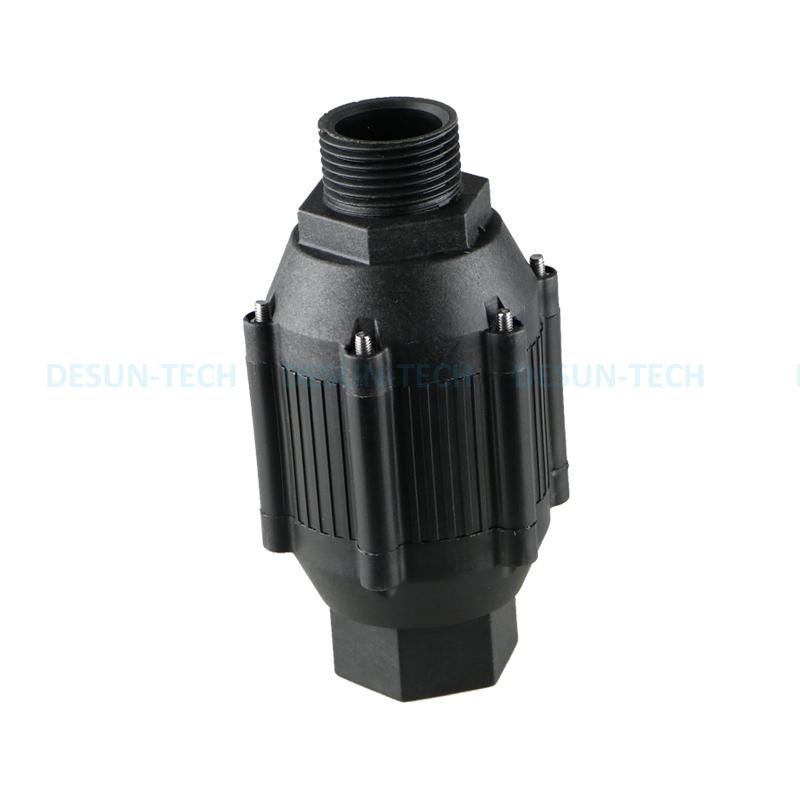 厂家直销12V24V小型无刷直流管道增压泵卧式大流量轴流泵DS6004