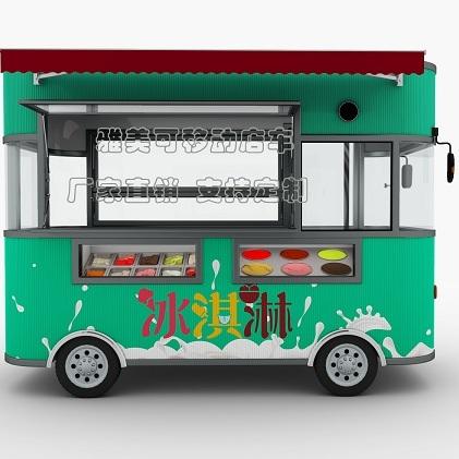 魔力餐车 街景房车 餐车 一车多用 一年四季随意更换经营项目 连锁机构低成本快速扩张利器
