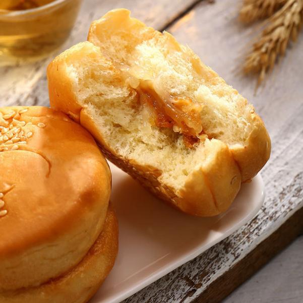 然利 汉堡面包早餐面包零食特产食品批发2kg