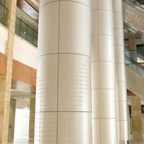 湖北铝单板厂家供应宜昌市弧形铝单板 2.0mm包柱铝单板