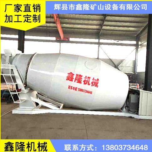 鑫隆矿山设备厂家定制生产新乡湿拌砂浆专用罐 建筑工地用砂浆搅拌罐