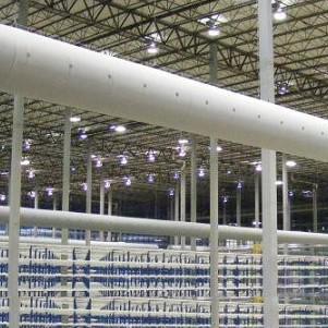 苏州瀑布布袋风管应用商业领域布袋风管织物风管纤维织物风管