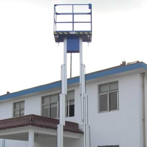 深圳12米双桅柱式升降平台(铝合金升降机)