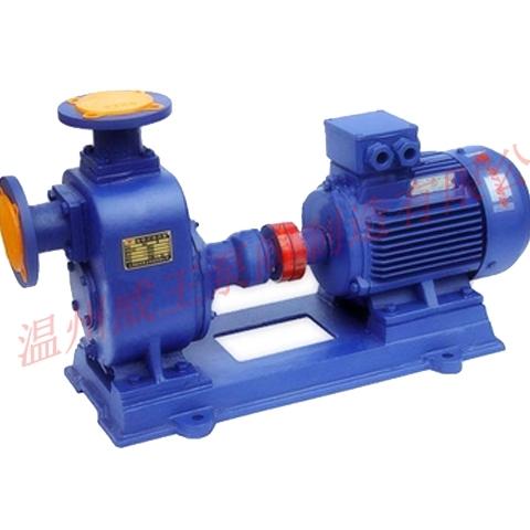 威王 :ZW型系列无堵塞自吸式排污泵