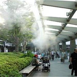 海口户外商业街边过道喷雾降温设备工艺精湛