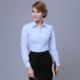 供应 修身衬衫女长袖职业女装衬衣春季新款女士工作服衬衫