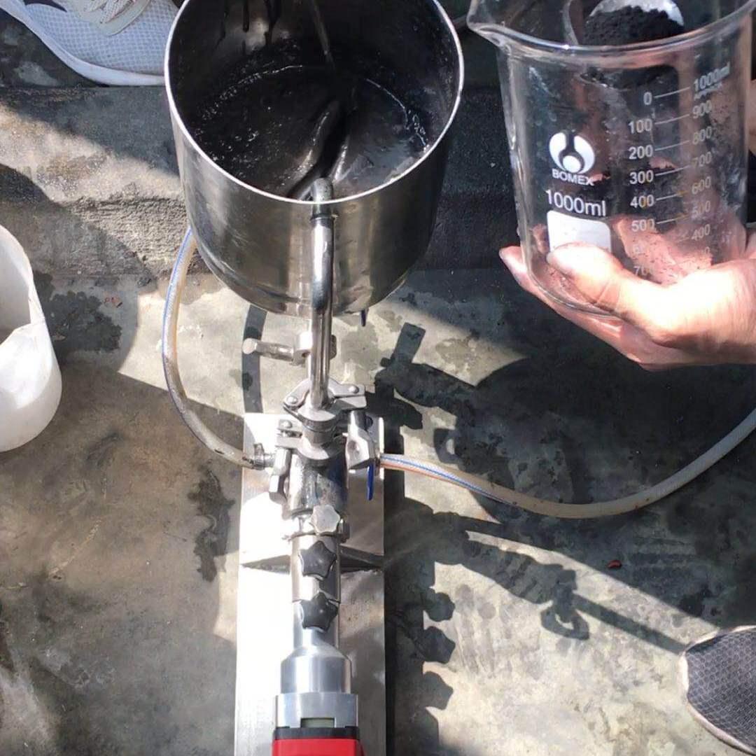 石墨烯电热膜涂料高剪切分散机