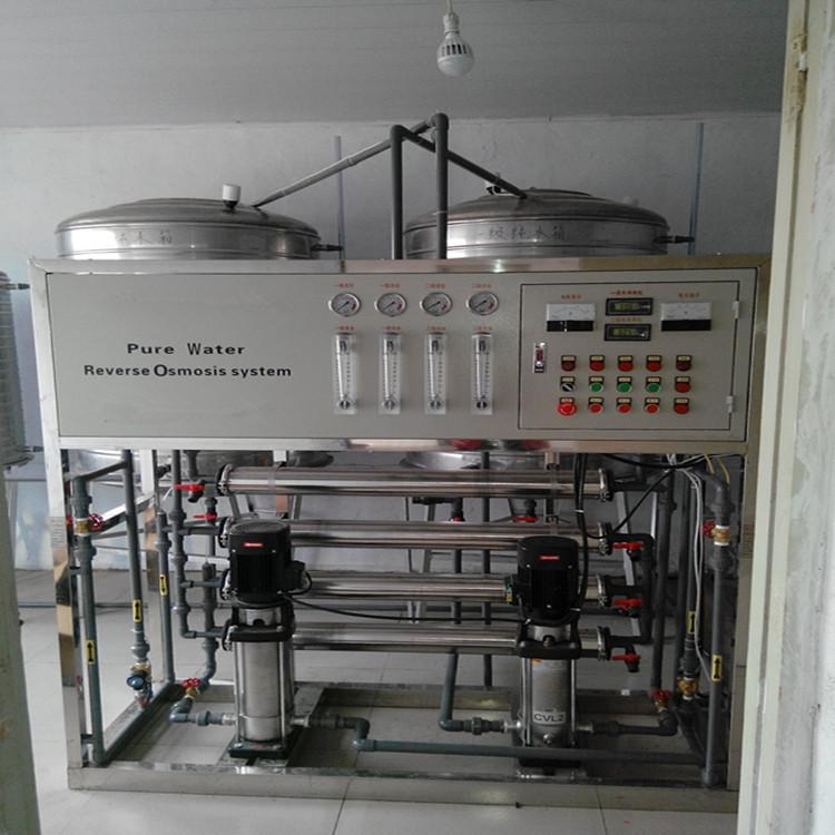 丹东厂家供应2吨单级反渗透设备 双级反渗透设备亮晶晶供应一等一水质