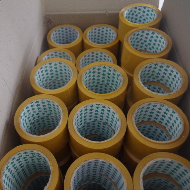 宽5.0CM 厚3.0CM 5.2丝透明封箱胶带批发打包胶带 包装