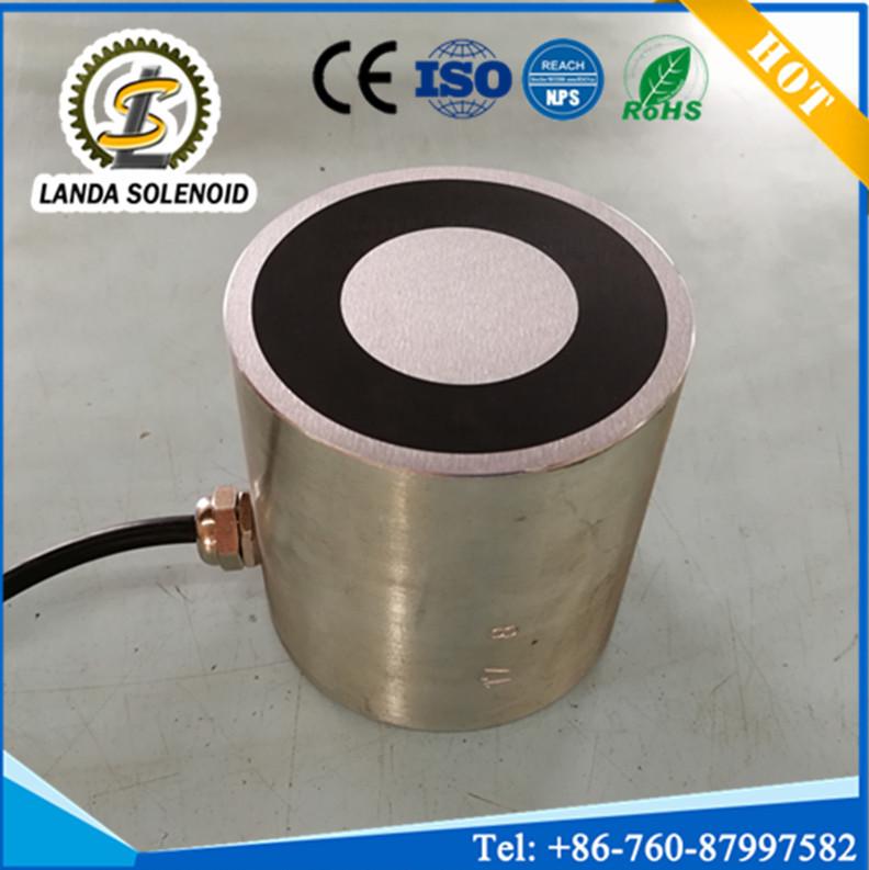 供应H8080大吸力电磁铁 低压电磁铁 DC12V 24V吸力250KG