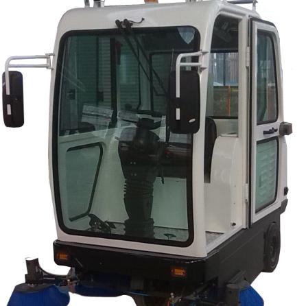 河南普森电动驾驶式扫地车厂区小区物业环卫扫道路清扫车PS-J1860CF