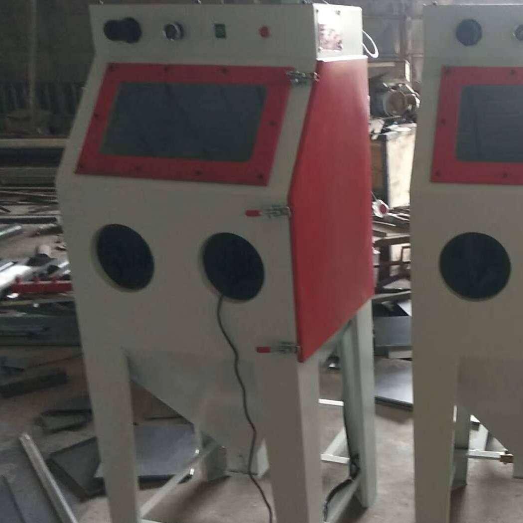优质不锈钢304材质箱式无尘水喷砂机环保部指定表面处理喷沙机