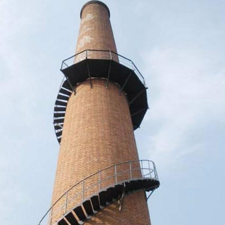 达州烟囱 Z梯 爬梯 旋转梯安装专业施工队伍