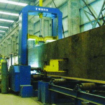 耀强Z18型自动组立机H型钢钢结构生产线设备