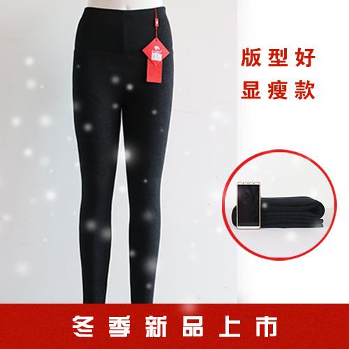冬日西北驼中老年保暖裤妈妈穿美体高腰裤冬天保暖打底裤