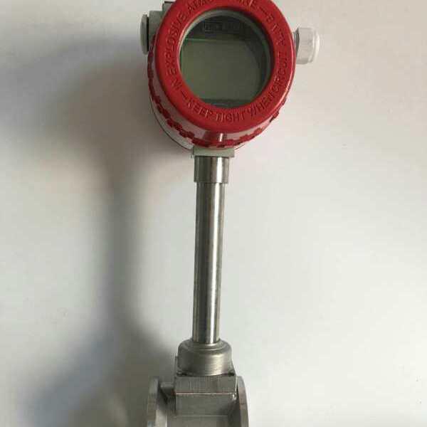 气体涡街流量计口径DN50测蒸汽4-20毫安485通讯协议