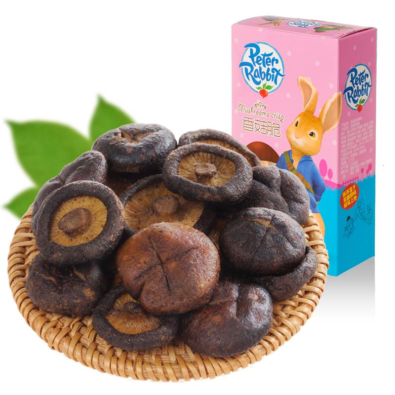 花纤菇香菇脆低温脆化  儿童零食孕妇零食蔬果脆香菇蔬菜干