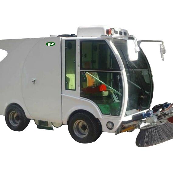 陕西普森中小型电动道路驾驶式扫地机
