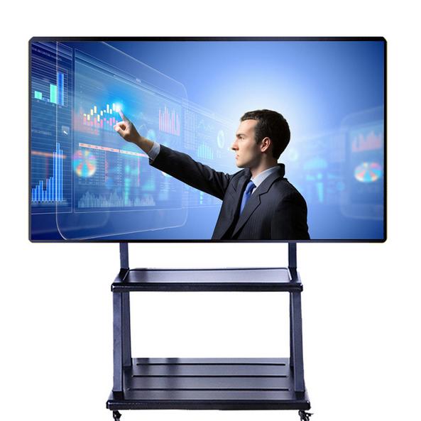 鑫飛65寸觸摸屏電視電腦幼兒園教學一體機多媒體會議電子白板