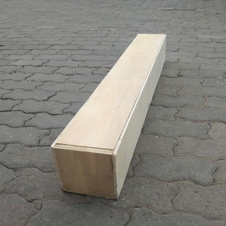 平度供应木箱子实木环保材质密度大承重强量身定做