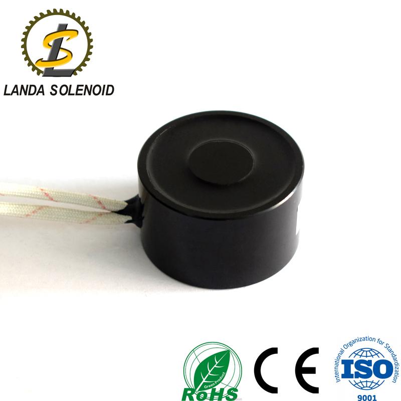 兰达厂家直销 24V直流电磁铁 H4025小型吸盘式电磁铁
