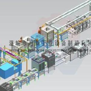永磁电机装配自动化线 新能源汽车驱动电机生产线