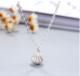 珍珠贝壳项链 扇形外壳内含必发电子游戏锁骨链 时尚精品