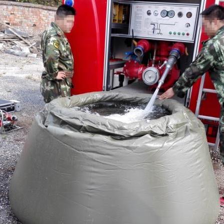 供应森林消防扑火工具器材   自动充气移动水囊