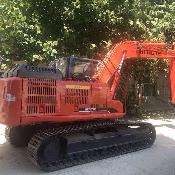 河南二手挖掘机恒特150履带二手挖掘机