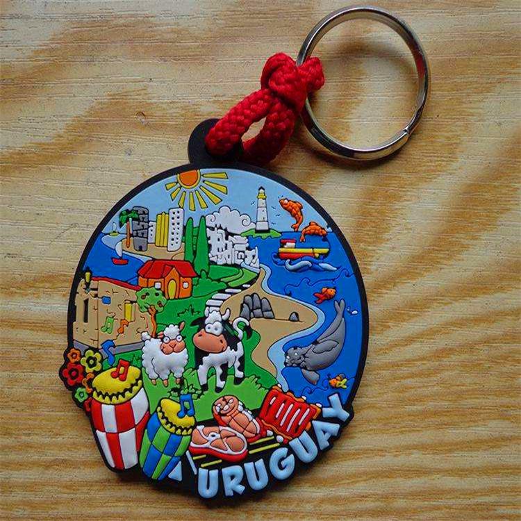 定制汽车钥匙扣汽车通用pvc软胶钥匙扣创意设计式卡通滴胶环保钥匙扣