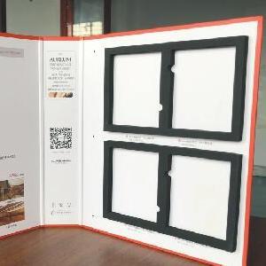 制作强化门竹木门实木烤漆门橱柜衣柜板材色卡本