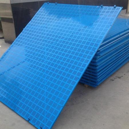 厂家直销高层建筑专用爬架网 安全防护全钢板爬架网