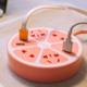 供应 创意柠萌U站多功能柠檬智能插座USB充电器家用圆形排插拖线板
