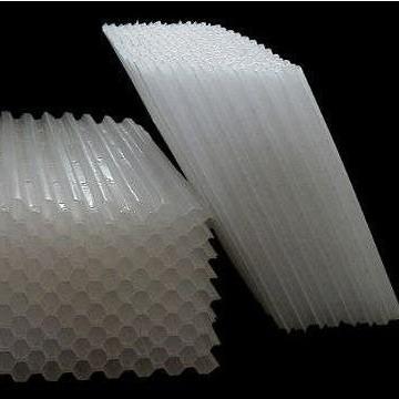 重庆造纸厂废水处理用斜管填料   35mm蜂窝填料材质