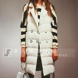 女式羽绒服|大毛领高档防寒服|品牌折扣女装尾货批发